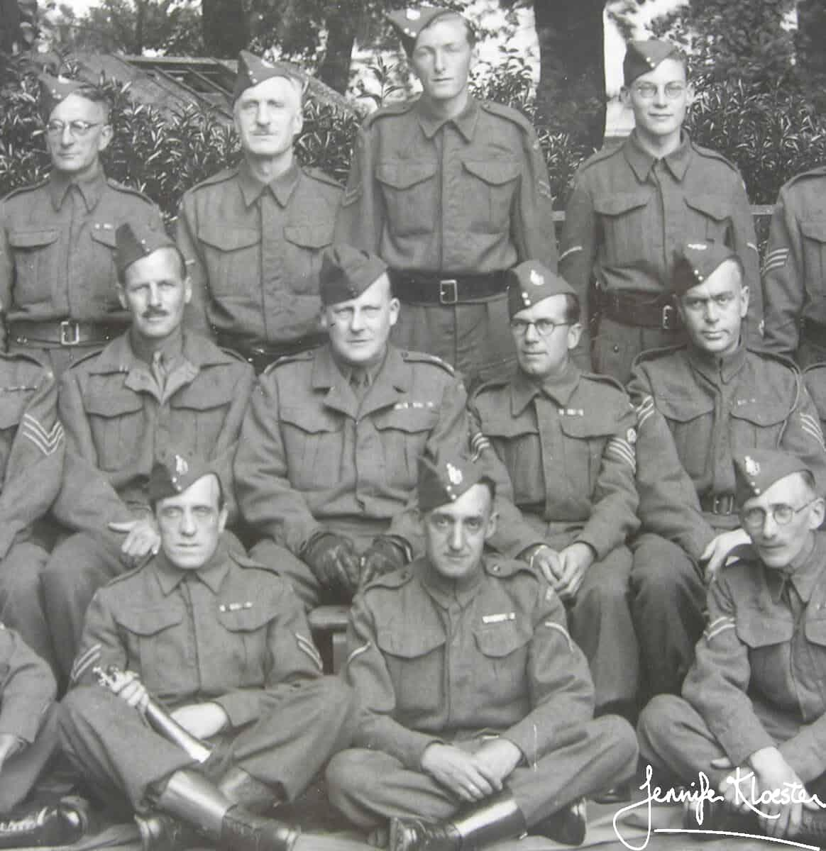 1941 Ronald Rougier In The Home Guard