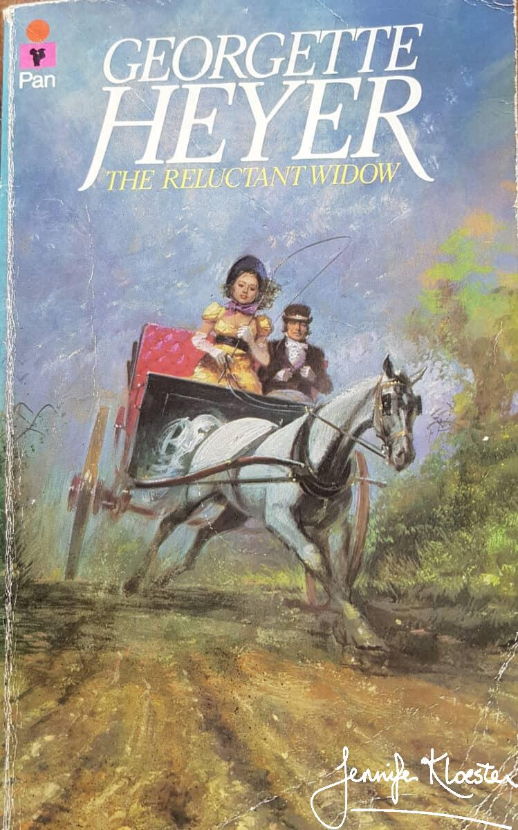 1961 pan edition of the reluctant widow