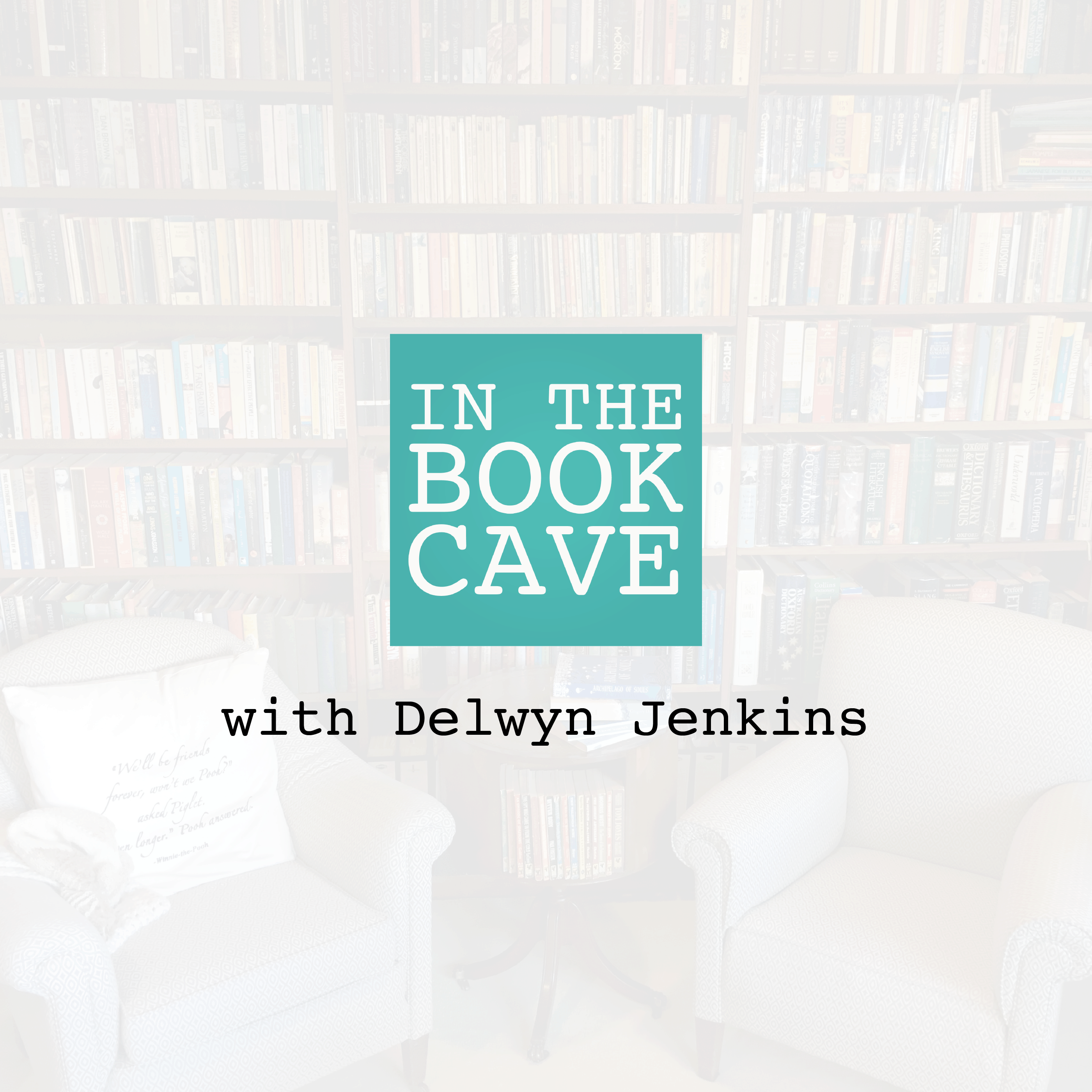 In the Book Cave with Delwyn Jenkins