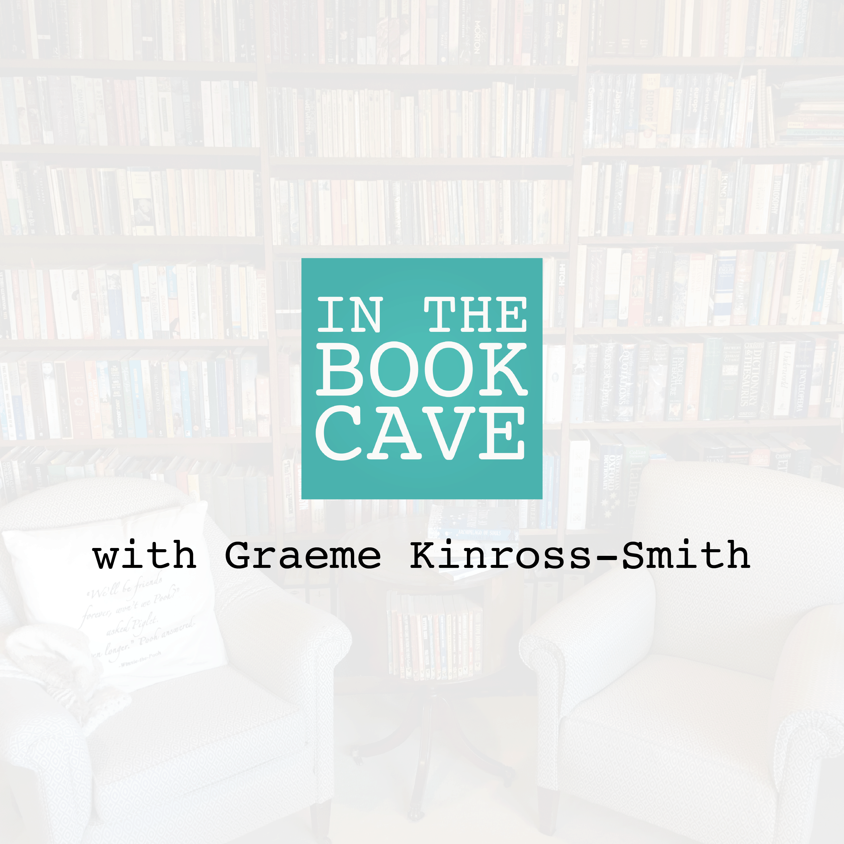 In the Book Cave with Graeme Kinross-Smith