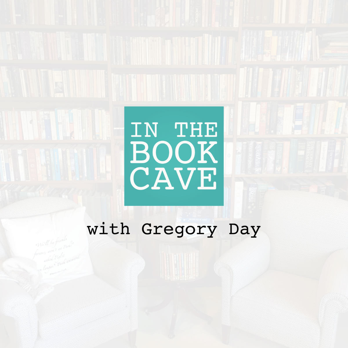 In the Book Cave with Gregory Day