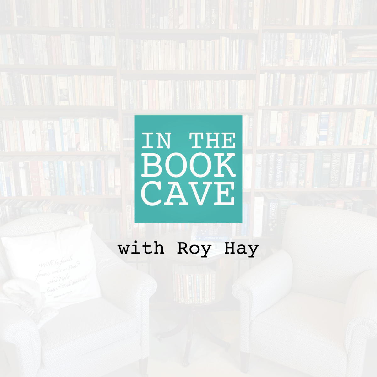 In the Book Cave with Roy Hay