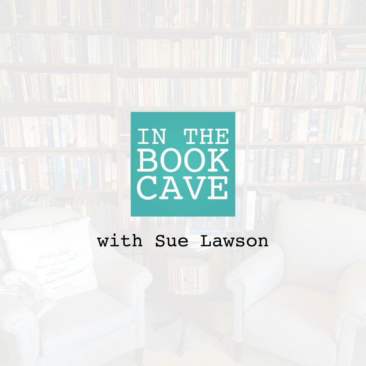 In the Book Cave with Sue Lawson