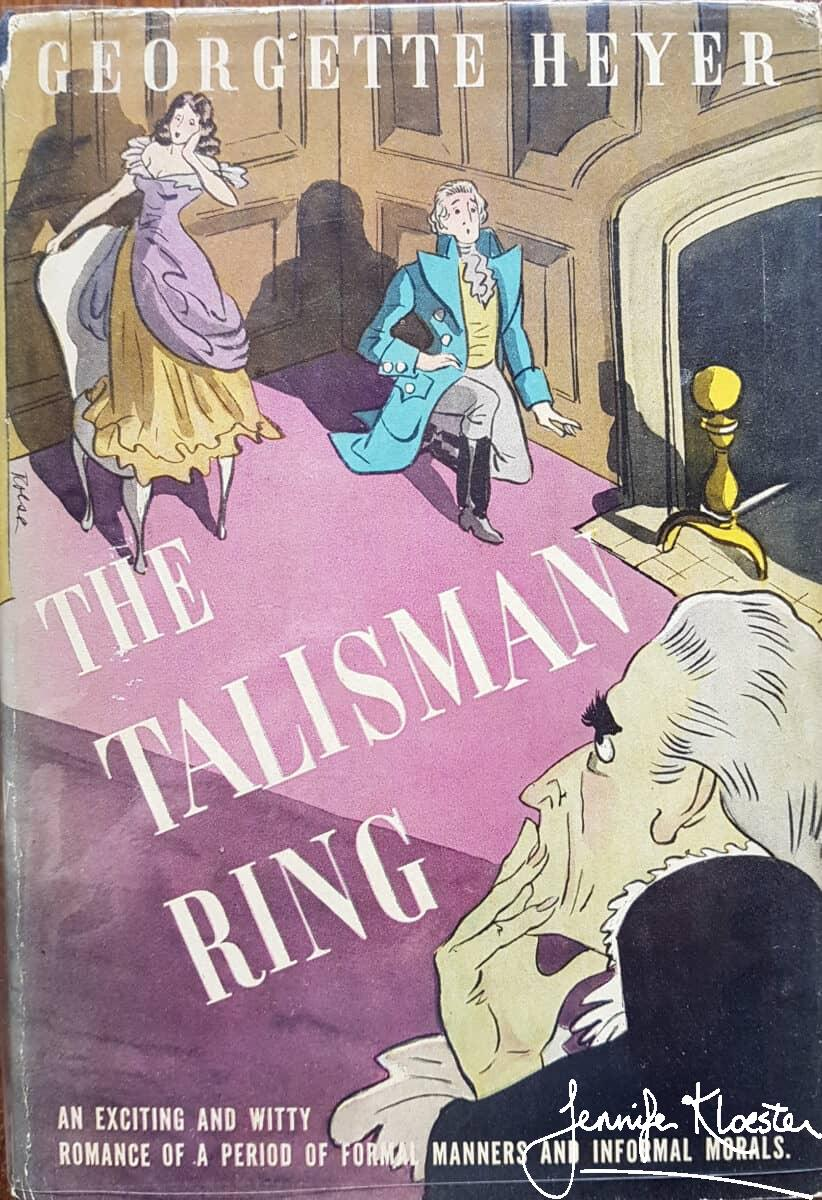 The Talisman Ring was first published in America in 1936 by Doubleday Doran. This is the 1937 US Book League edition.
