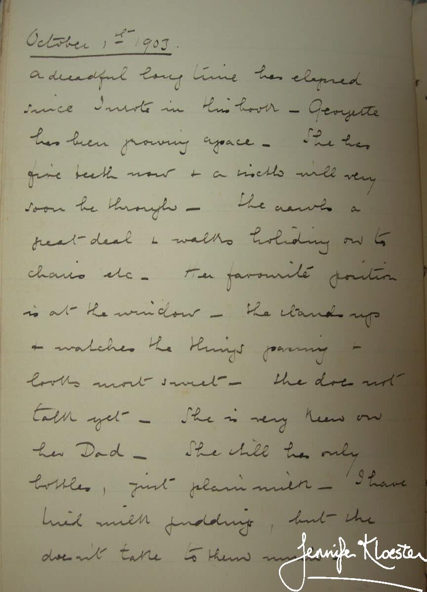 4. 1 october 1903