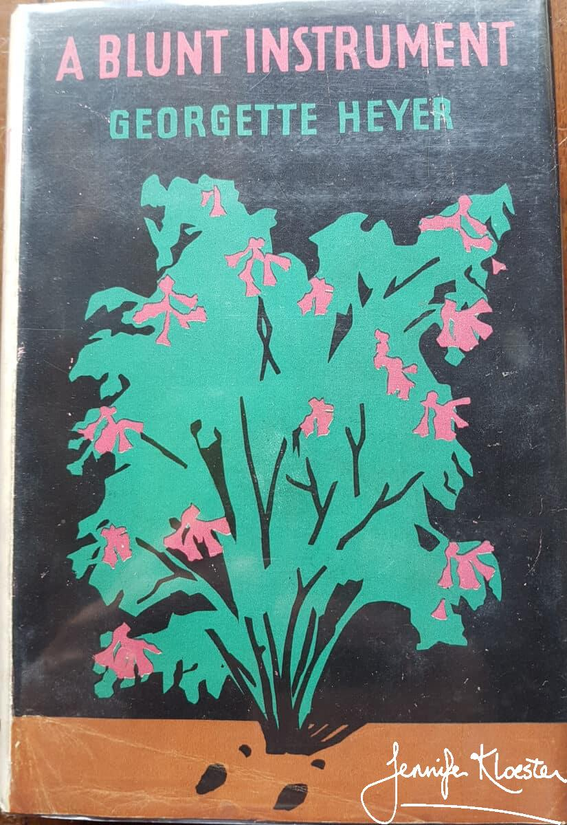 A Blunt Instrument Hs First Edition