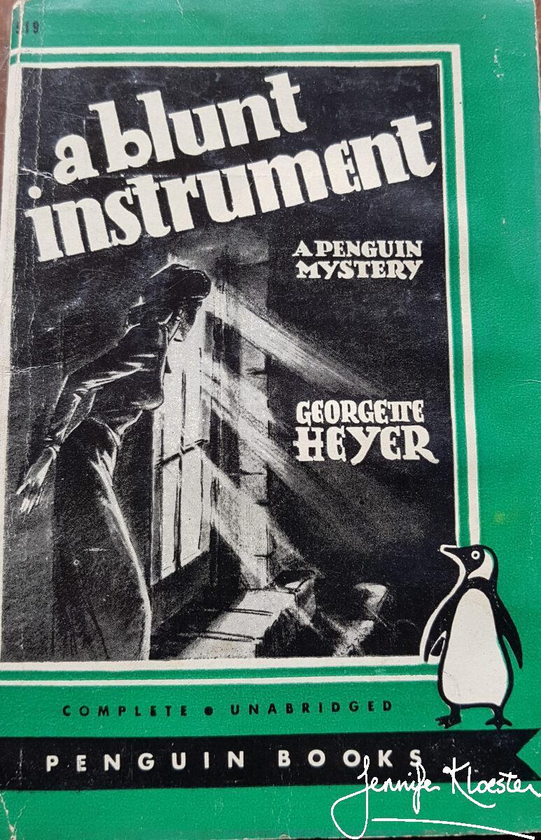 A Blunt Instrument Penguin Edition