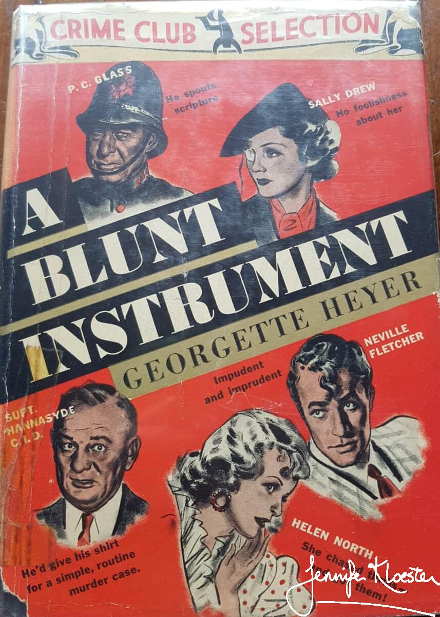 A Blunt Instrument Usa Crime Club Edition