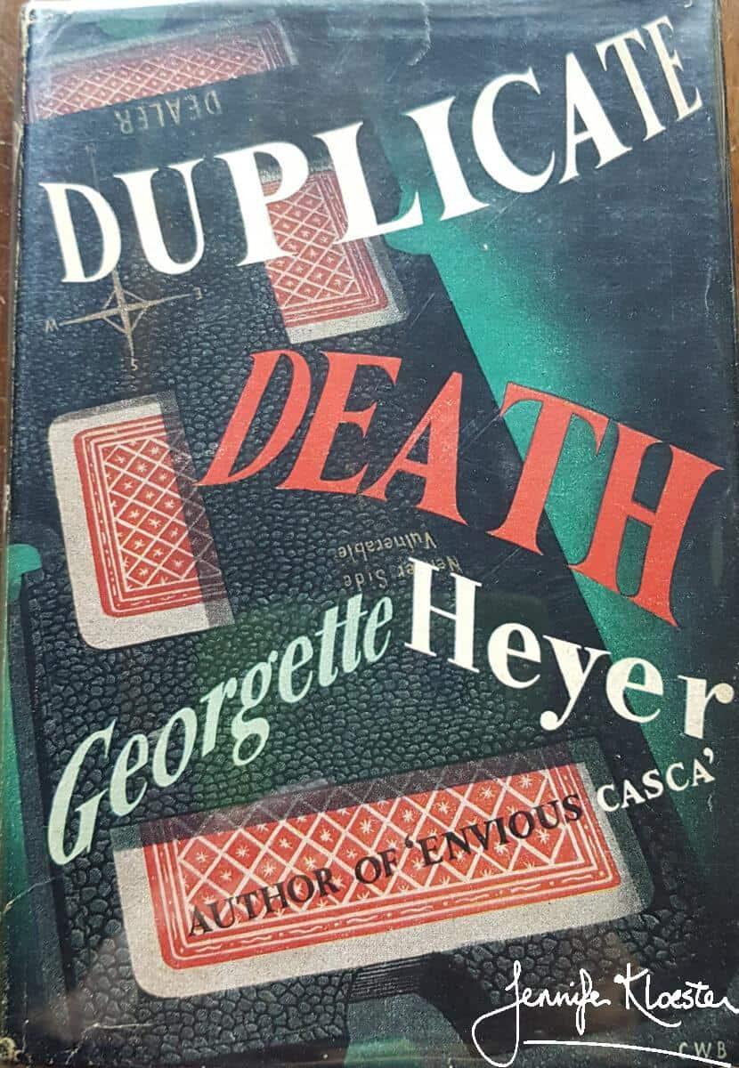 duplicate death heinemann first edition 1951