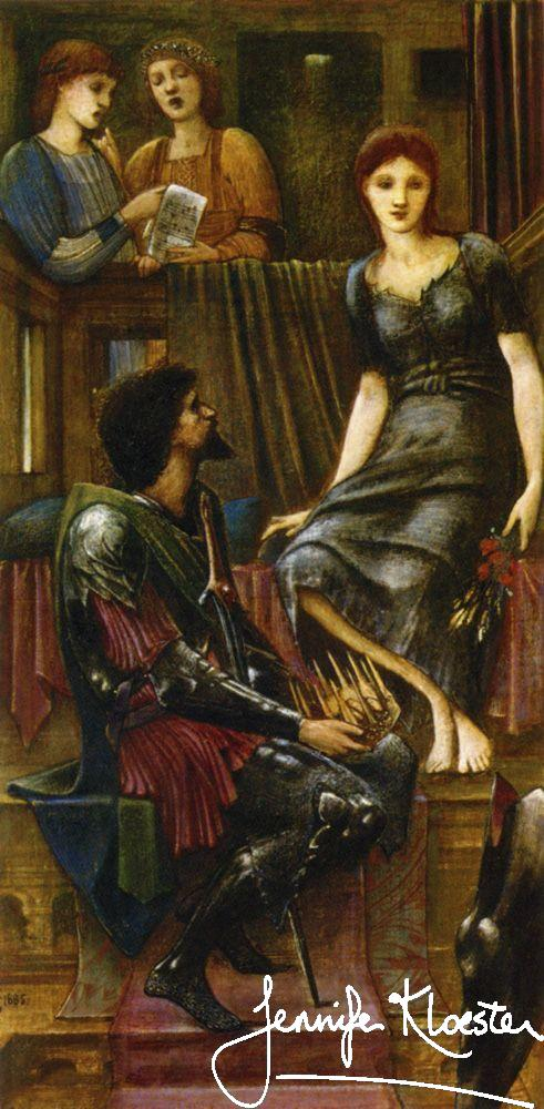Edward Burne Jones King Cophetua And The Beggar Maid 1883