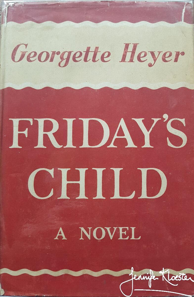 Fridays Child Uk First Edition