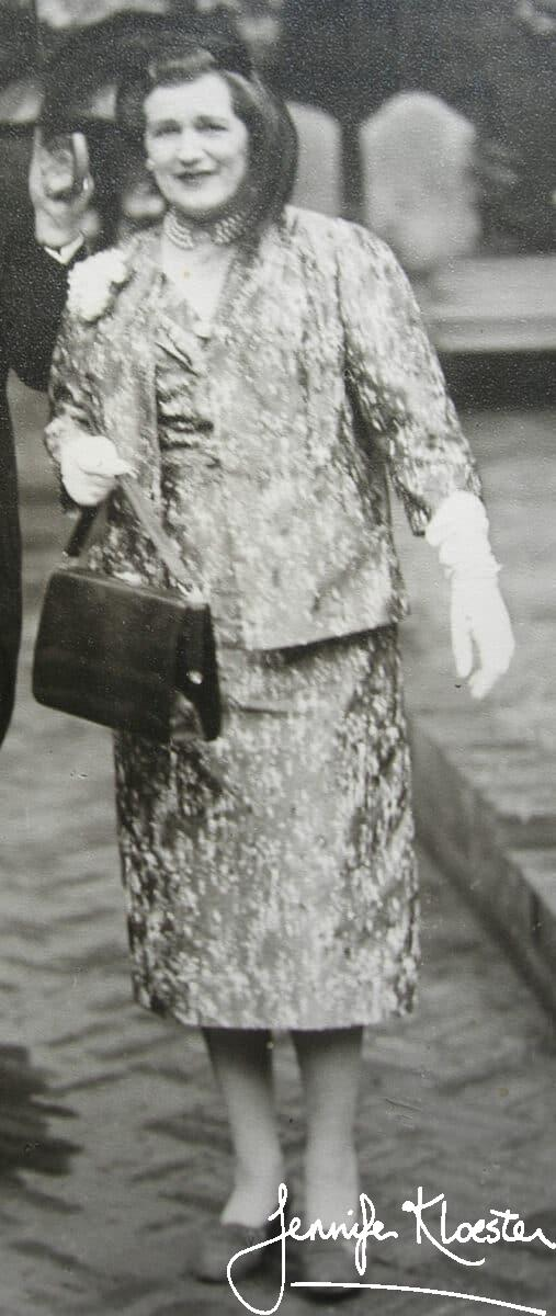 georgette dressed for a garden party 1960s 2