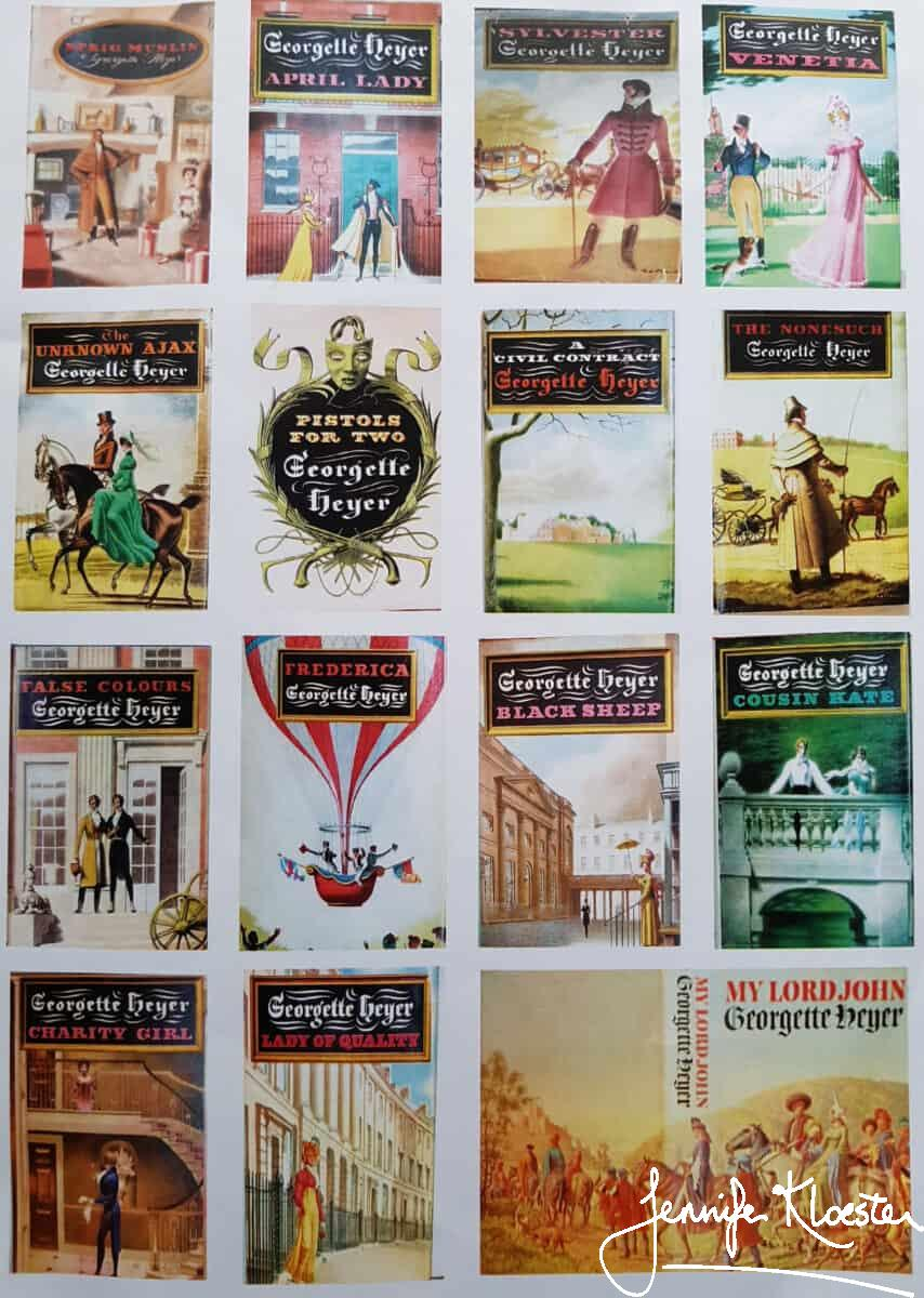 heyer historical book covers 1956 1972 1