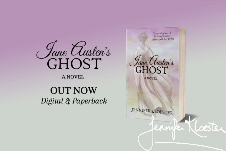 Jane Austen's Ghost by Jennifer Kloester