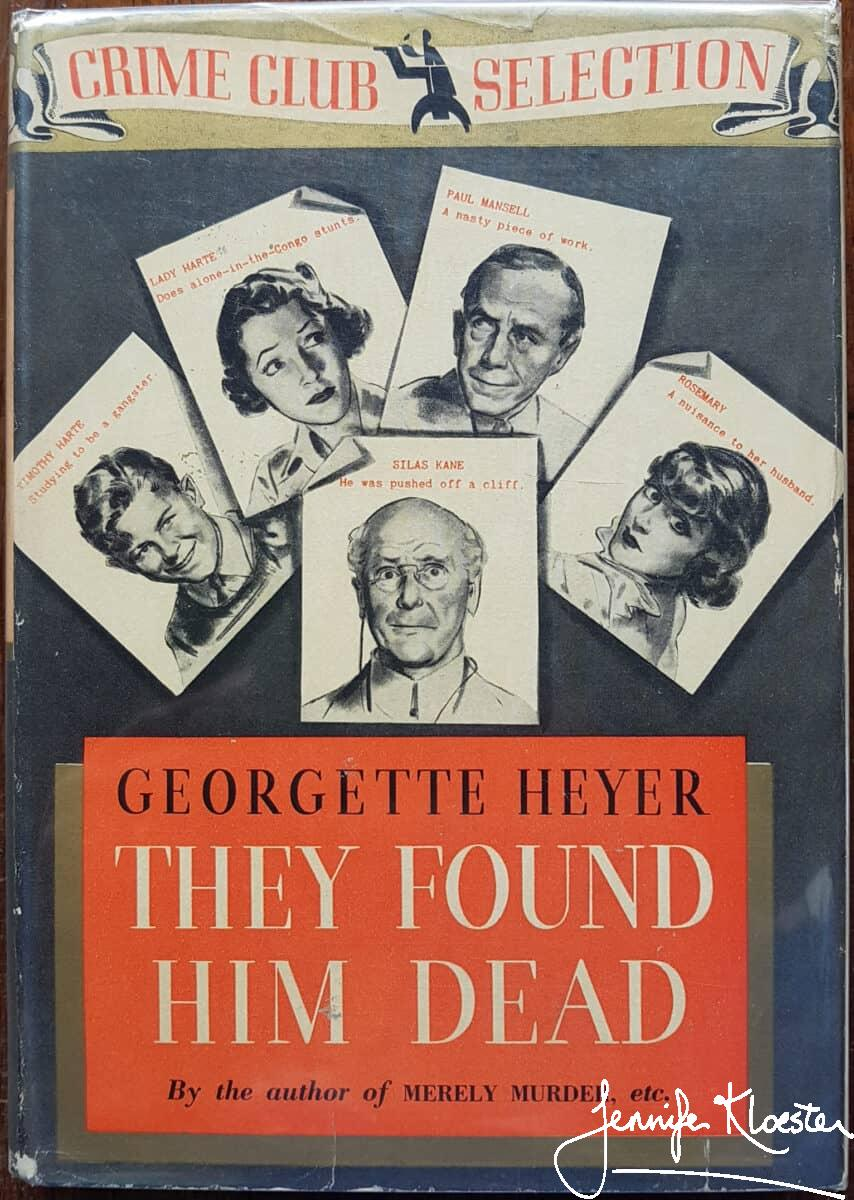 The Delightful Cover Of The1937 Crime Club Edition.